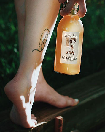 Our 🦶🏻Barefoot Kombucha🦶🏻has its own