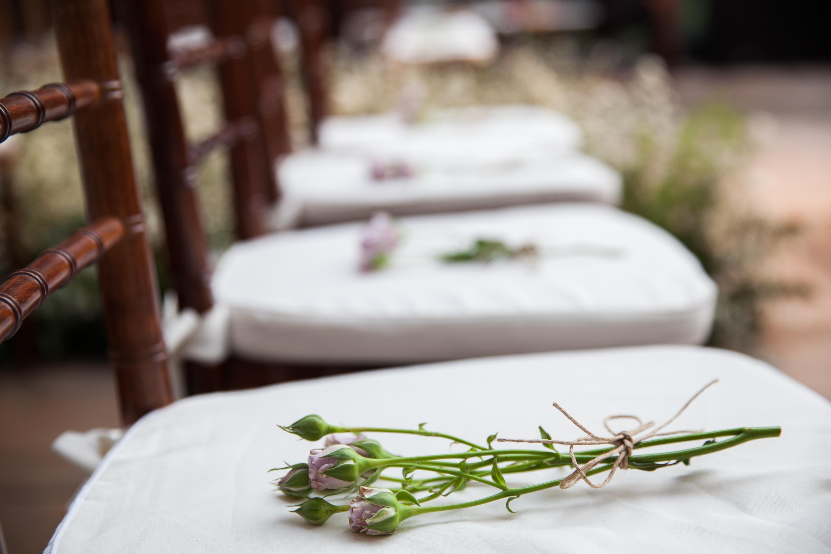 Detalhes - Cadeiras reservadas cerimônia