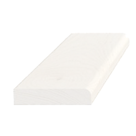 Forkantliste, fyr hvid 5068, 9x43mm, pris pr. meter
