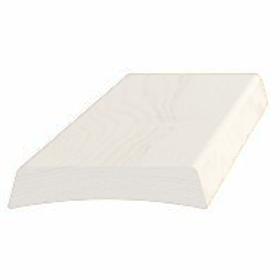 Indfatning 6112 hvid/NCS, 14x65 mm, pris pr. meter