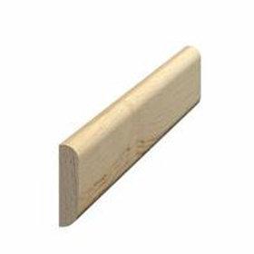 Vægliste fyr 127, 5x21mm, pris pr. meter