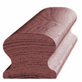 Håndløber, mahogni 369, 45x54 mm, pris pr. meter