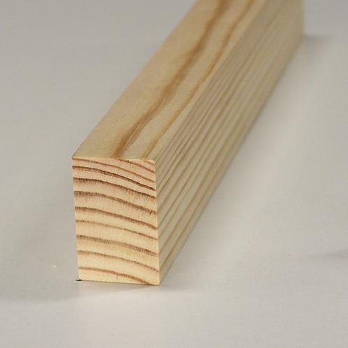 Forrammetræ, fyr 516, 27x43 mm, pris pr. meter
