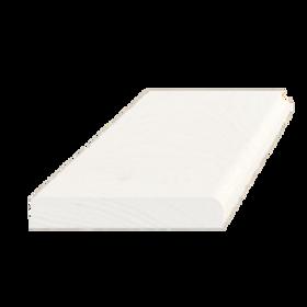 Forkantliste, fyr hvid 5099, 9x55 mm, pris pr. meter