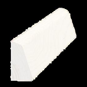 Skureliste fyr hvid 5177, 15x27 mm, pris pr. meter