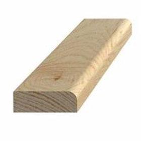 Forkantliste, fyr 2, 9x27 mm, pris pr. meter