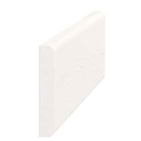 Vægliste fyr hvid 5087, 9x55 mm, pris pr. meter