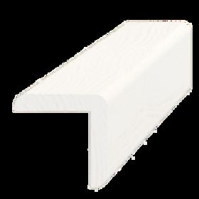 Hjørneliste, fyr hvid 5273, 31x31 mm, pris pr. meter