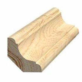 Hulkehlliste, fyr 355 almue, 27x27 mm, pris pr. meter