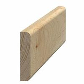 Vægliste fyr 45, 9x43 mm, pris pr. meter