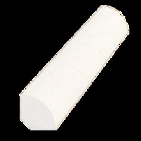 Kvartstafliste, fyr hvid 5070, 12x12 mm, pris pr. meter