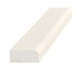 Forkantliste, fyr hvid 5001, 9x21 mm, pris pr. meter