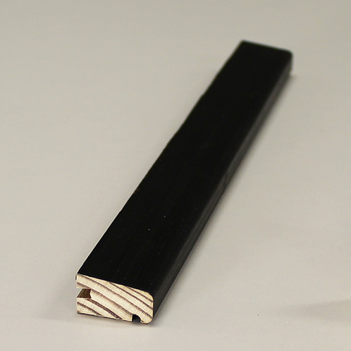 Bundglasliste 4074 VENT, fyr VAC/SORT 15x27 mm pris pr. meter