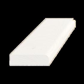 Forkantliste, fyr hvid 5003, 9x33mm, pris pr. meter
