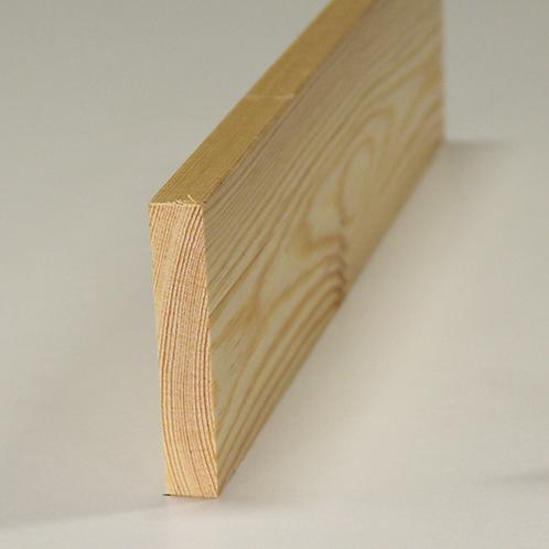 Forrammetræ, fyr 525, 12x68 mm, pris pr. meter