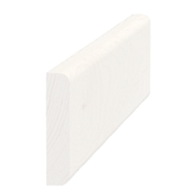 Vægliste hvid 5045, 9x43 mm, pris pr. meter