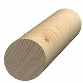 Rundstok, fyr 56, 43 mm, pris pr. meter