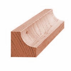 Hulkehlliste, mahogni 910, 26x26 mm, pris pr. meter