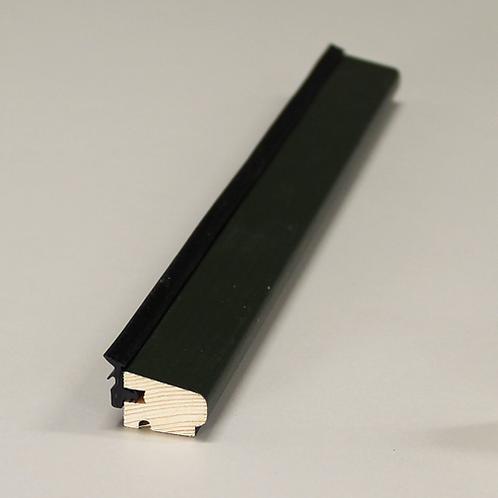 Glasliste 4139 med fals & EPDM, fyr VAC/GRØN UMBRA 15x21 mm, pris pr. meter
