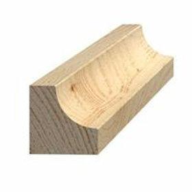 Hulkehlliste, bøg 910, 26x26 mm, pris pr. meter