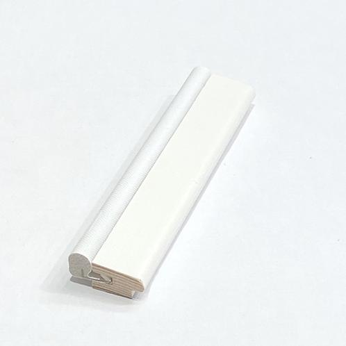 Tætningsliste FYR HVID 100001572. 9x15 mm. Pris pr. meter