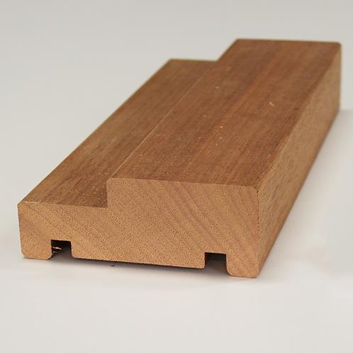 Karmtræ, mahogni 564, 45x115 mm, pris pr. meter