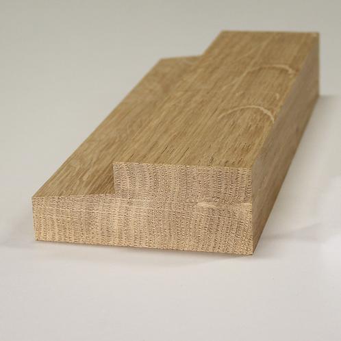 Karmtræ, eg 527, 45x115 mm, pris pr. meter