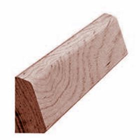 Skureliste mahogni 176, 12x21 mm, pris pr. meter