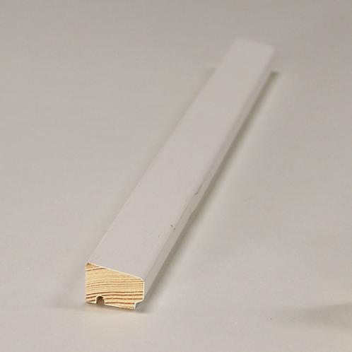Glasliste 4033 med fals, fyr VAC/HVID 15x21 mm pris pr. meter