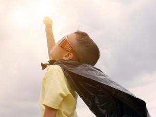 MANAGING CORONAVIRUS IS 'CHILD POWER'
