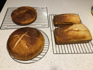 THE SMELL OF GOOD BREAD BAKING ...