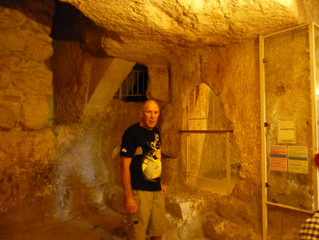 THE CELL UNDER THE HOUSE OF CAIAPHAS
