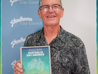 PETER JIRGENS - SHOALHAVEN CITIZEN OF THE YEAR 2021