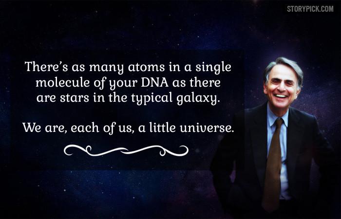 A reflection from Carl Sagan
