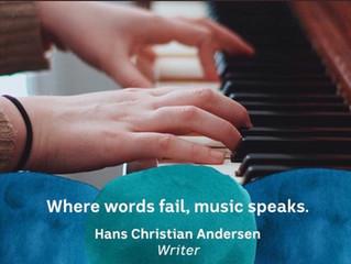 WHEN WORDS FAIL ...