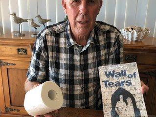 A FREE TOILET ROLL WITH THE PURCHASE OF A COPY OF MY NEW BOOK