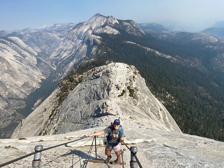 Hiking Half Dome During the Peak of California Wildfires and During Covid-19 –Yosemite National Park