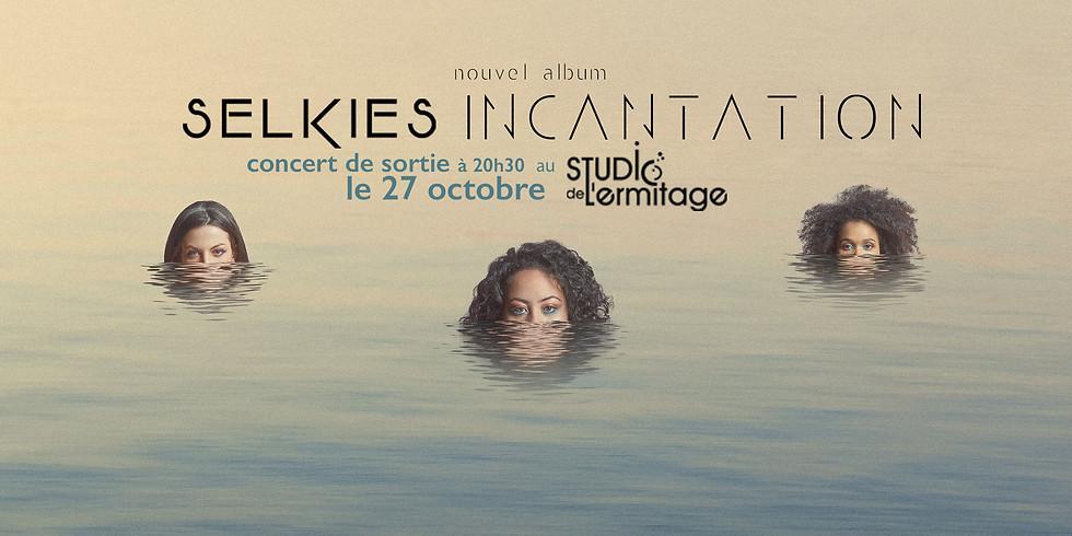concert de sortie d'album Selkies