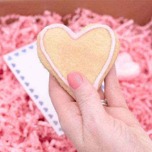 Shortbread Heart Box