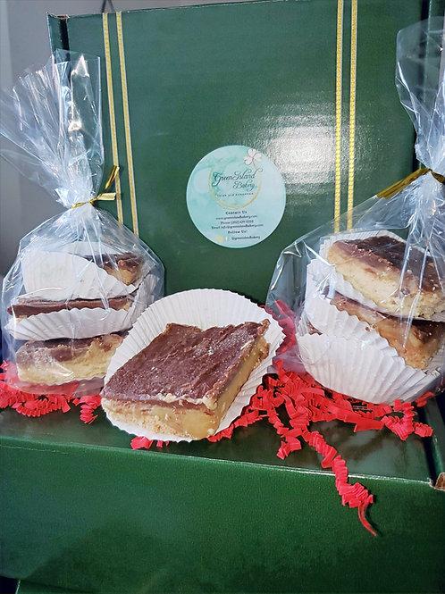 Caramel Shortbread Boxes