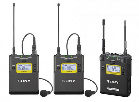 Sony URX-P03D/33KIT Dual Channel UWP-D Kit