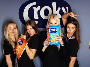 Croky maakt gebruik van onze makkelijk te branden photobooths.
