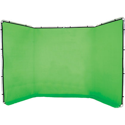 Lastolite Panoramic Background (4 meter Chroma Key Green)