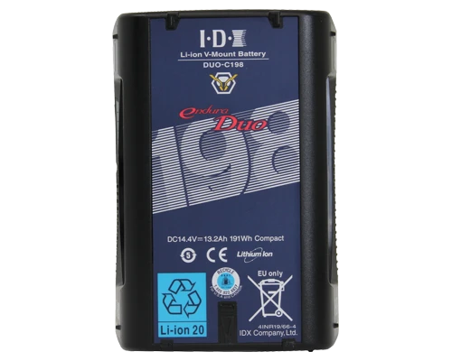 DUO-C198 (191Wh High-Load Li-Ion V-Mount Battery w 2x D-Tap and USB)