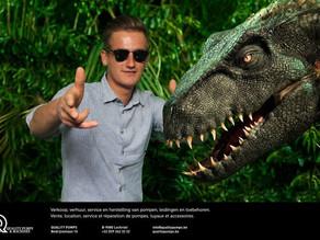 Altijd al eens met een Dino op de foto willen staan? Check al onze greenkey mogelijkheden!
