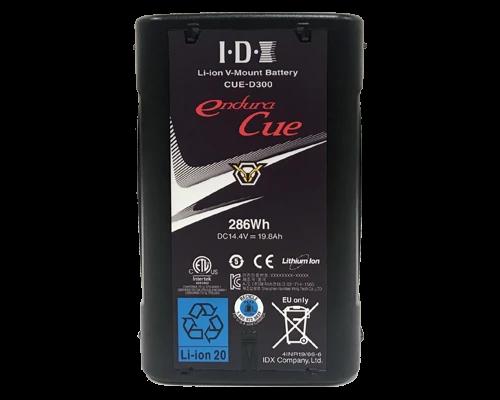 CUE-D300 (286Wh High-Load Li-Ion V-Mount Battery w 1x D-Tap)