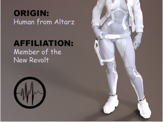 Meet Amara, member of the New Revolt