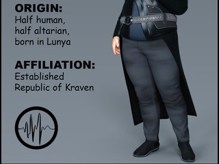 Meet Lord Kraven, the villain at the center of our story