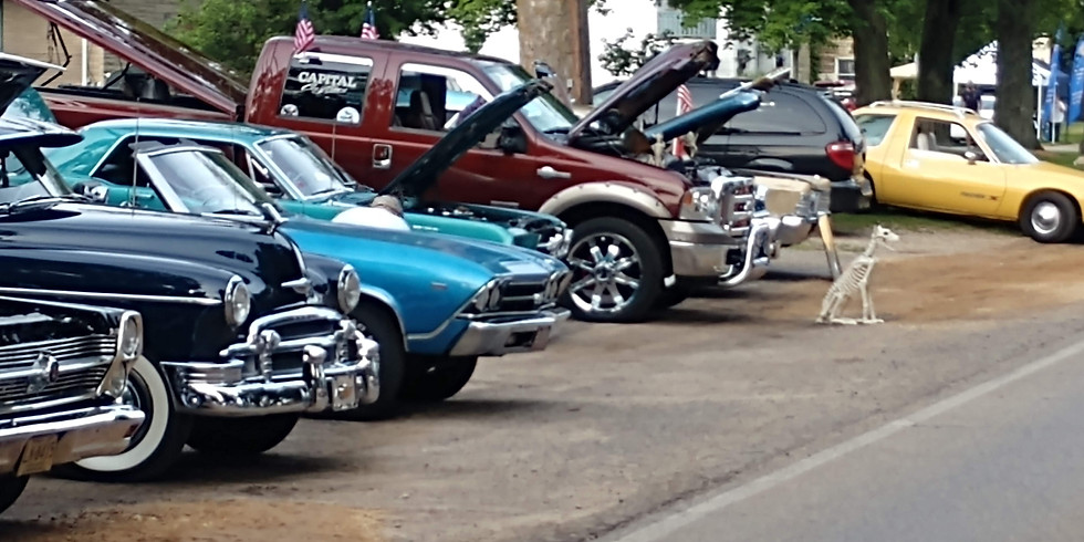Lawrence Ox Roast Classic Car Show (Pre-Register $10.00 by August 15, 2019 - Or - Day of Show $15.00)