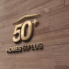 Homes 50 Plus Logo